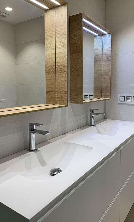 Reforma baño en el Antiguo