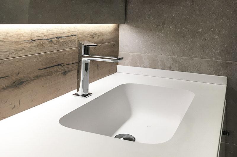 Reforma baño en Amara